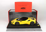 Ferrari SF90 Stradale Giallo Modena with display case...