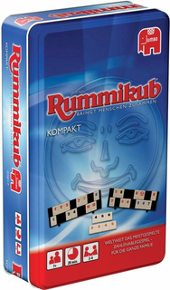 Jumbo 03817 Original Rummikub Kompakt in Metalldose