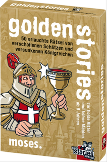 moses black stories Junior - golden stories - 50 erlauchte Rätsel von verschol