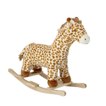 Bloomingville MINI Schaukel-Giraffe, Multi-color