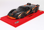 Ferrari FXX Nero DS 1250 1:18 with display case- FXX10A BBR