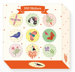 Stickers: 100 Chic stickers
