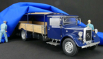 Mercedes-Benz LKW Renntransporter LO 2750, 1934-38 1:18 -...