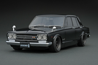 Nissan Skyline 2000 GT-R PGC10 schwarz 1:18 - IG0765 Ignition Model