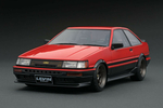Toyota Corolla Levin 2 Door GT Apex red black 1:18 -...