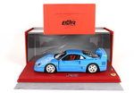 Ferrari F40 1987 Blu Chiaro with display case 1:18 -...