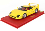 Ferrari F40 1987 Giallo Modena with display case 1:18 -...