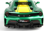 Ferrari 488 Pista Spider Closed Roof Met Green with...