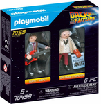 PLAYMOBIL 70459 Back to the Future Marty Mcfly und Dr....