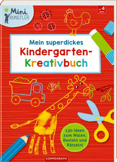 Mein superdickes Kindergarten-Kreativbuch