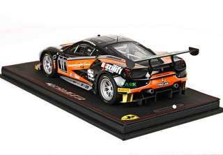 Ferrari 458 GT3 Kessel Racing with display case 1:18 - P18118TR003 BBR