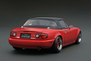 Eunos Roadster Red Black Softtop 1:18 - IG0667 Ignition Models