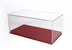 Display Case - leatherette base red 1:18 VET1804A1 BBR
