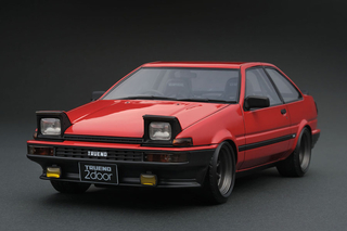 Toyota Sprinter Trueno (AE86) 2-Türer GTV rot 1:18 - IG0550 Ignition Models