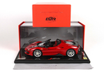 Ferrari J50 Rosso TRS Lucido Red Black with display case...