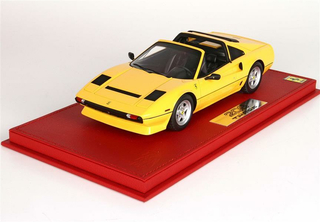 Ferrari 208 GTS Turbo 1983 giallo modena with display case 1:18 - P18142DV BBR