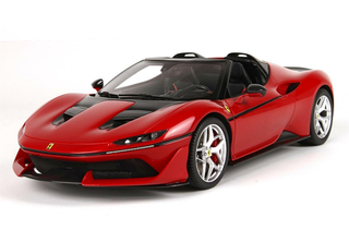 Ferrari J50 50th anniversary Ferrari in Japan carbon base with display case  1:18 - P18156CFB BBR